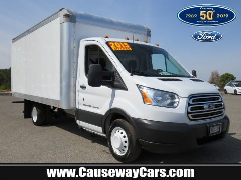Pre-Owned 2015 Ford Transit Cutaway Base RWD Specialty Vehicle