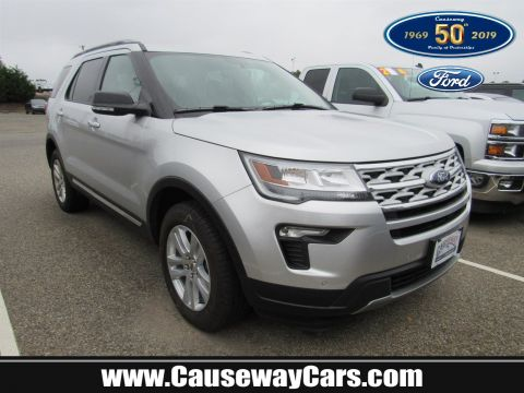 Pre-Owned 2019 Ford Explorer XLT 4WD Sport Utility