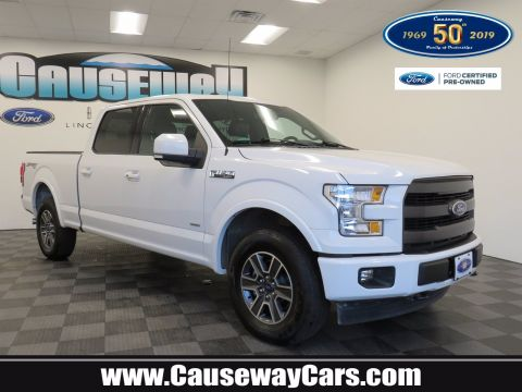 Pre-Owned 2017 Ford F-150 Lariat 4WD Crew Cab Pickup