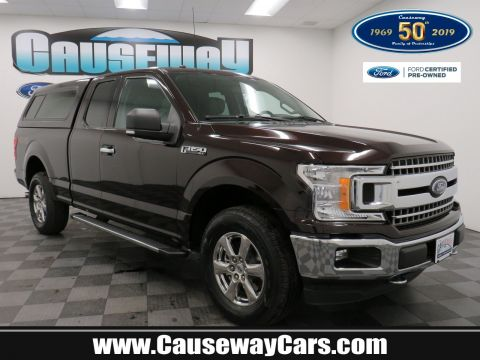 Pre-Owned 2018 Ford F-150 XLT 4WD Extended Cab Pickup