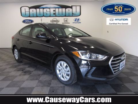 Certified Pre-Owned 2018 Hyundai Elantra SE FWD 4dr Car